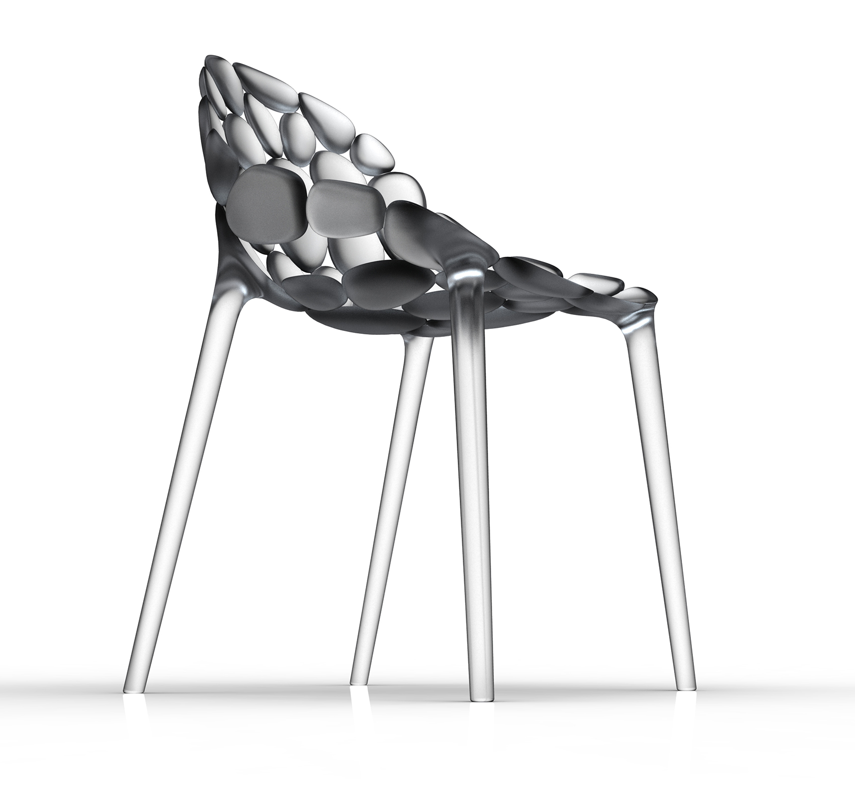 Claud-io chair by eugeni Quitllet with Kartell 1