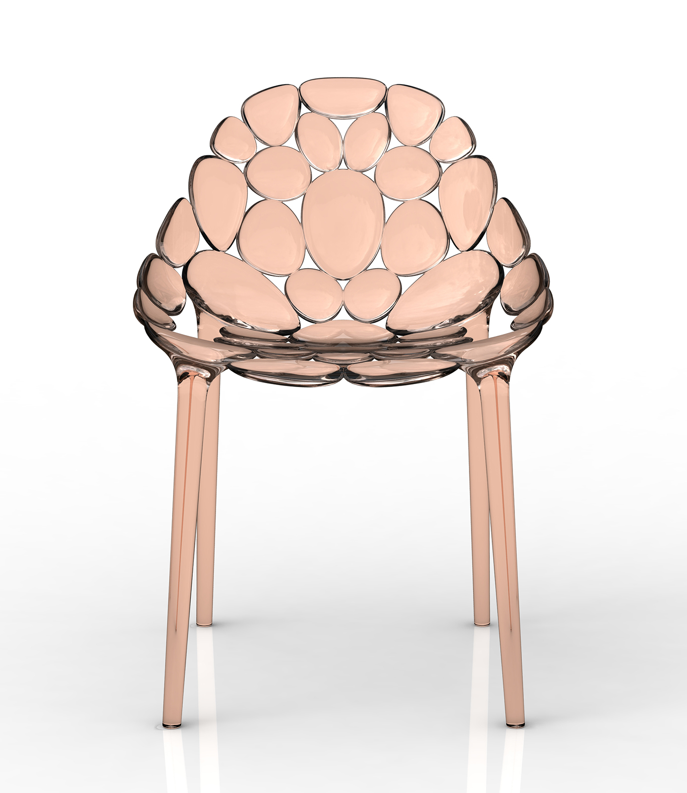 Claud-io chair by eugeni Quitllet with Kartell 12