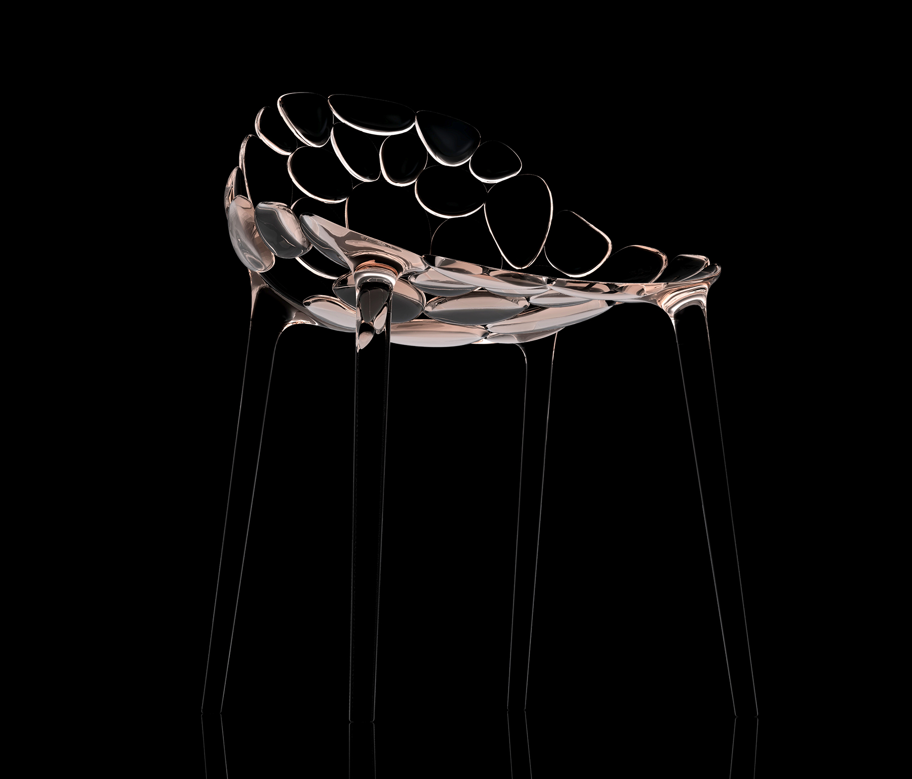 Claud-io chair by eugeni Quitllet with Kartell 3