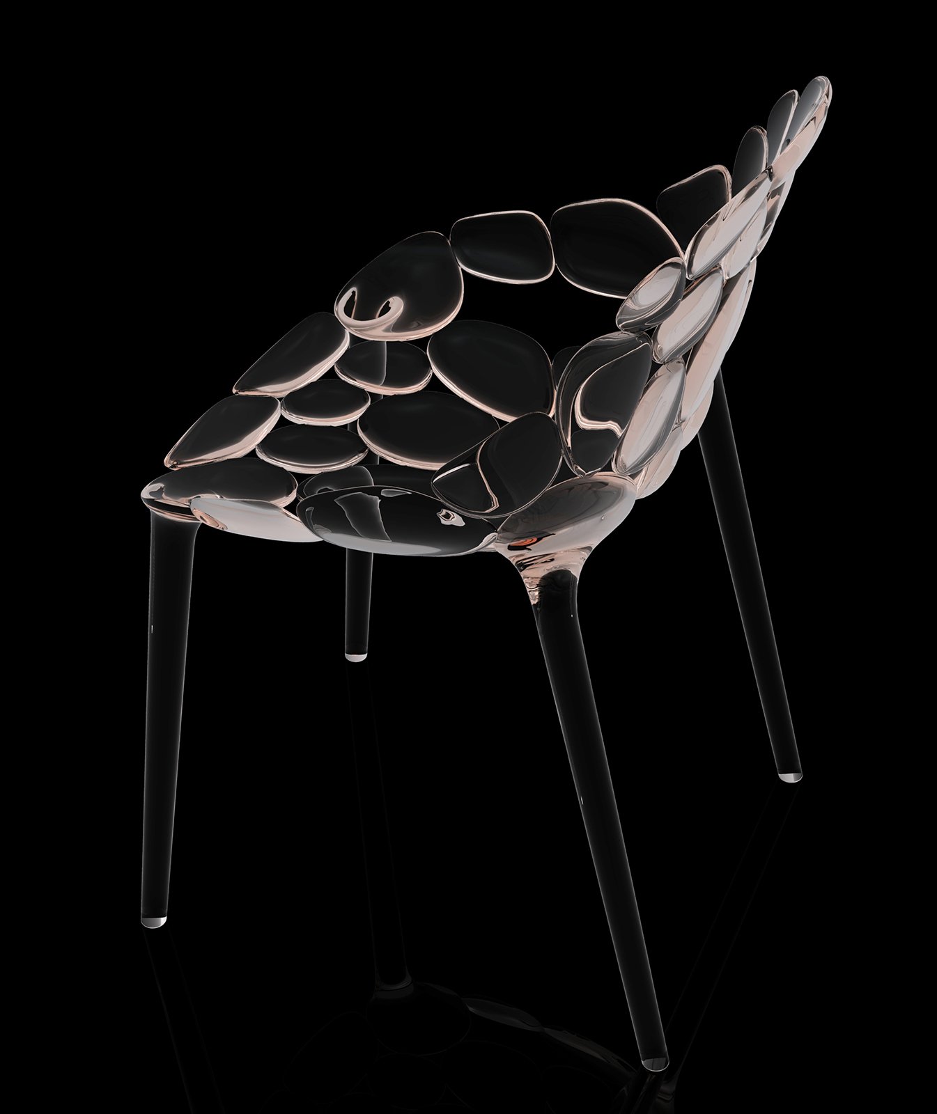 Claud-io chair by eugeni Quitllet with Kartell 4