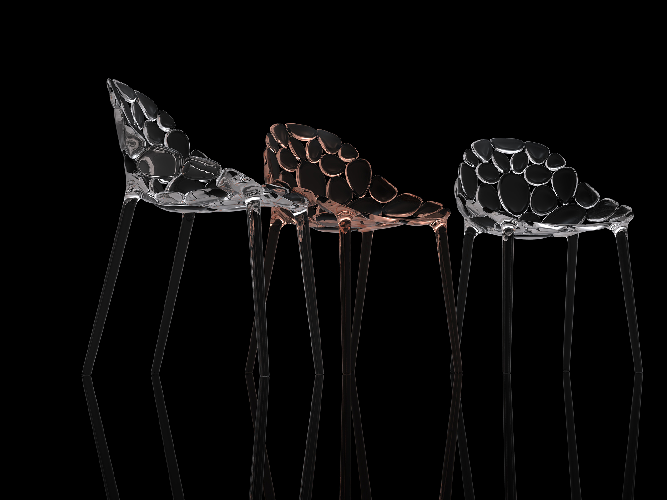 Claud-io chair by eugeni Quitllet with Kartell 7
