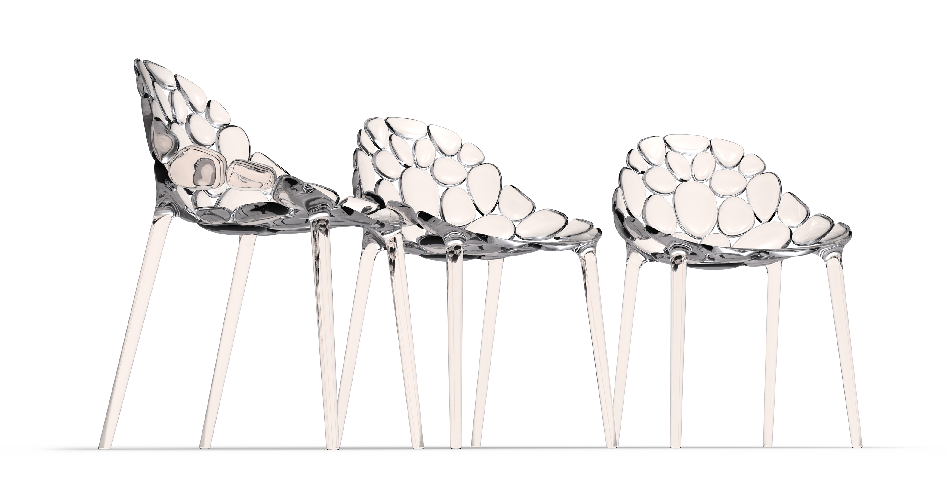 Claud-io chair by eugeni Quitllet with Kartell 8