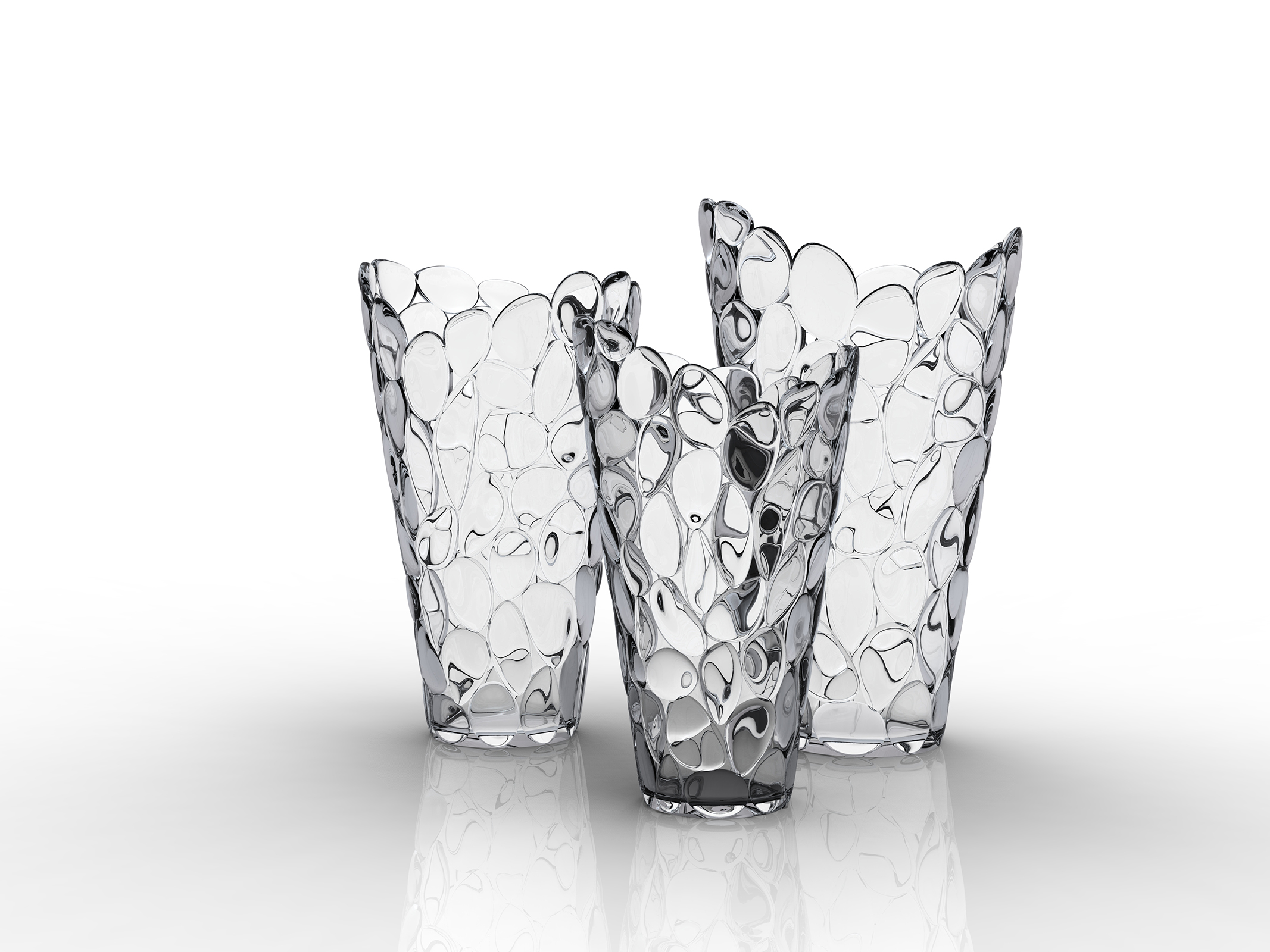 VASE ô, cristal by Eugeni Quitllet with Kartell 2