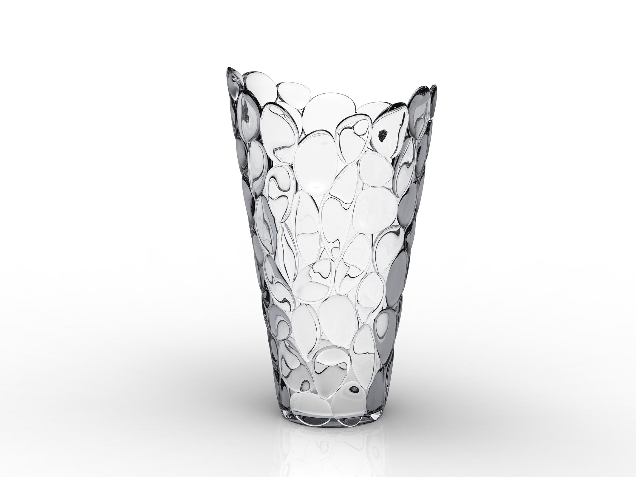 VASE ô, cristal by Eugeni Quitllet with Kartell